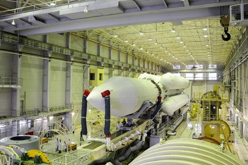«Ангара-А5» в монтажно-испытательном комплексе