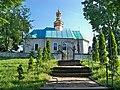 Долина.Церква Архістратига Михаїла.Профіль.JPG