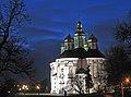 Катерининська церква вид вночі.jpg