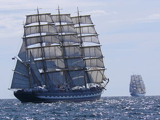 Kruzenshtern (ship) - Image: Крузенштерн Radich