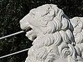Один из львов на Львином мосту.jpg