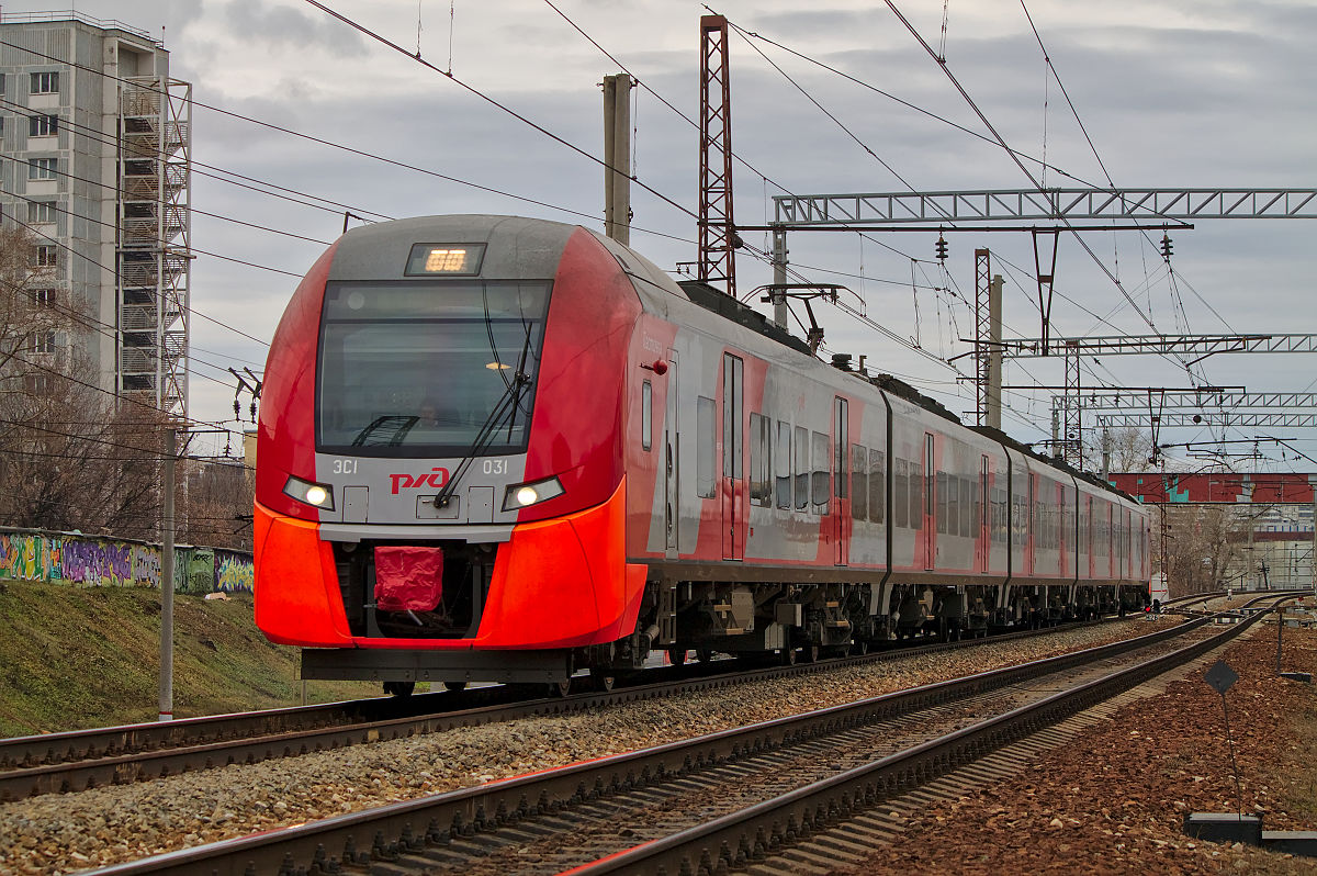 Поезд схема размеры
