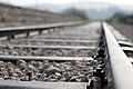 """פסי רכבת על גשר קשתות מאבן מתקופה העותמנית אשר תוכנן ע""""י מהנדס גרמנח אוגוסט מייסר.JPG"""
