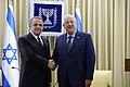 שגריר טורקיה בישראל כאמל אוקום מגיש את כתב האמנתו (1).jpg