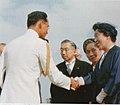 รัชกาล 9 และพระราชินีถึง Tokyo International Airport 27 พฤษภาคม 2506 - 3.jpg