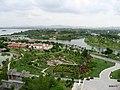 厦门园林博览苑 - 杏林阁东南方向俯览生态岛 - panoramio.jpg