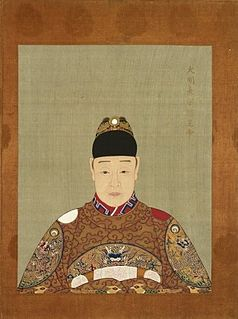 Tianqi Emperor emperor of the Ming Dynasty
