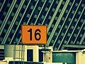 浦東機場T1 16號登機口/No.16 boarding gate of PVG - panoramio.jpg