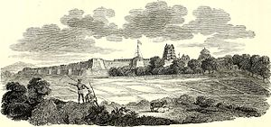 "Palayamkottai - ""Fort Pallamcottah"" (1800) by James Welsh."
