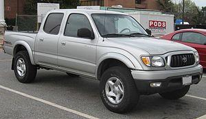 Toyota Tacoma - Image: 01 04 Toyota Tacoma