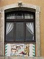 016 Can Solé (Barcelona), detall de la façana del c. Mar 51-53.jpg