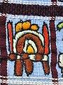 030 - Huipil Ceremonial Santiago Atitlan Detail Frontside 1989 08.JPG