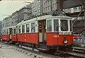 031R30000977 Typ M 4022, Typ m3 5376, Linie 231, Ringturm Schottenring Sept. 1977.jpg