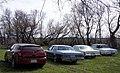 05 Dodge Magnum RT & 80 Dodge St.Regis & 78 Chrysler New Yorker Brougham & 64 Imperial Crown Coupe (13923052057).jpg