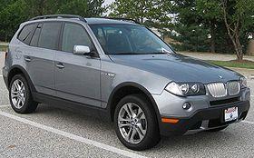 06 07 BMW X3