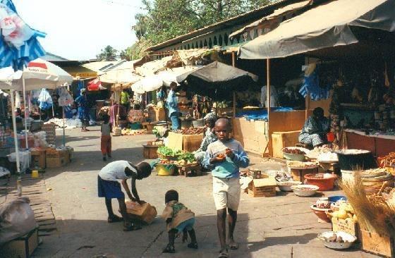1014036-Banjul Albert market-The Gambia
