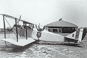 Alabama Air National Guard - 106th Observation Squadron Curtiss JN-6H, about 1922