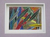 1170 Andergasse 10-12 - Ernest Bevin-Hof Stg 1 - Hauszeichen Olivenblätter von Adele Stadler 1958 IMG 4797.jpg