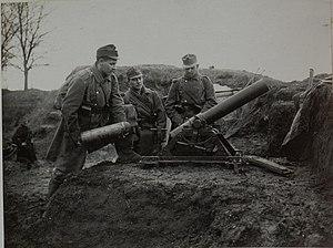 12 cm Minenwerfer M 15 - 12 cm Minenwerfer M 15