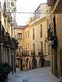145 Plaça del Bo-bo (Monistrol de Montserrat), des del c. Manresa.JPG