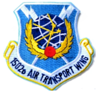 1502d Air Transport Wing - Emblem of the 1501st Air Transport Wing