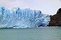 152 - Glacier Perito Moreno - Zone d'abrasion latérale - Janvier 2010.JPG