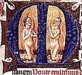 15th-century painters - Folio of a Breviary - WGA16022 - Initial M.jpg