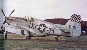 162d Tactical Reconnaissance Squadron North American P-51C-1-NT Mustang 42-103213.jpg