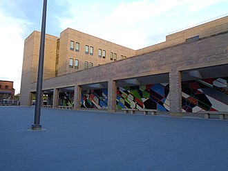 Queens Gateway to Health Sciences Secondary School - Image: 164th St Goethals 22 Queens Gateway