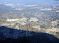 177 Monistrol i el Llobregat des del cremallera, pujant cap a Montserrat.JPG