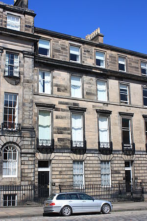 William Henry Playfair - Playfair's townhouse at 17 Great Stuart Street, Edinburgh