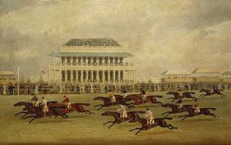 "Moses (horse) - The ""desperate"" finish of the 1822 Derby"