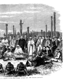 1863 Meeting of Settlers and Maoris at Hawke's Bay, New Zealand - Right.png