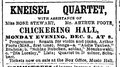1889 Kneisel ChickeringHall BostonGlobe Dec1.png
