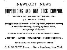 Newport News Shipbuilding - Wikipedia