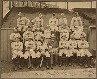 1900 Boston Beaneaters season - Team photo