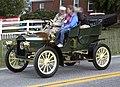 1905 Ford Model F Side-Entrance Tonneau, front left (Hershey 2019).jpg