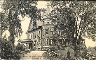 Smiths Falls - Elmcroft, the house Francis T. Frost built in Smiths Falls in 1895