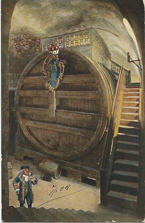 19080107 strassburg das grosse heidelberger fass