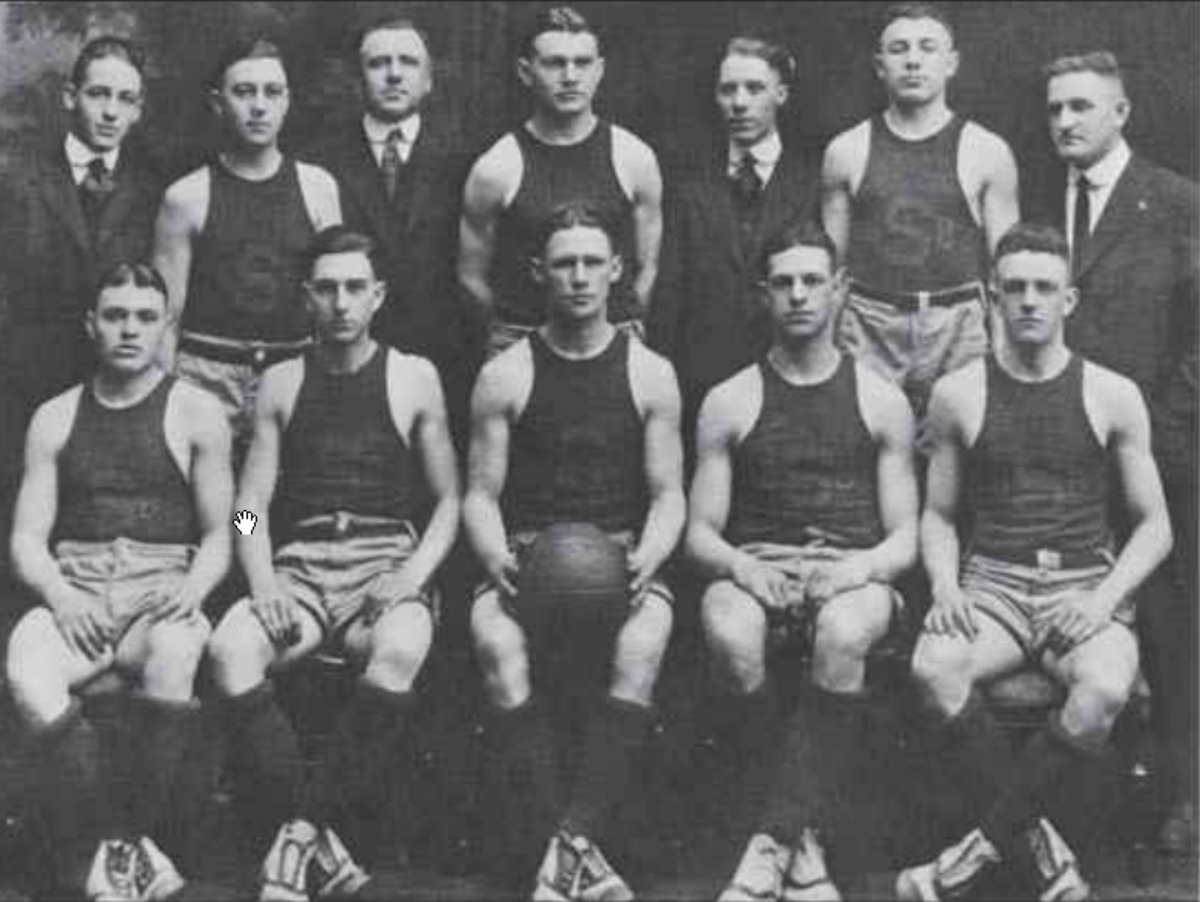 1917 18 Syracuse Orangemen Basketball Team Wikipedia