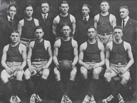 1917-18 Syracuse Orangemen basketball team.tif
