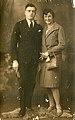 1928 Giovanni Battista Cardone e Rosa Papurello nel giorno del matrimonio.jpg