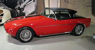 Fiat 8V - Image: 1953 Fiat 8V Demon Rouge