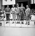 1955년 7월 서울특별시 종로구 서울특별시청앞 광장 미군 소방차 인수식04.jpg