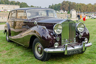Rolls-Royce Silver Wraith - 1956 Silver Wraith touring limousine by H J Mulliner