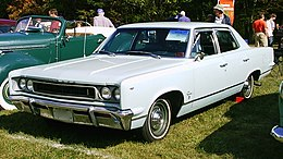 Una Rambler Rebel coupé del 1967