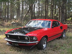 ford mustang anni 60