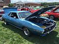 1972 AMC Javelin AMX 401 4-speed in Jetset Blue at 2015 AMO show 2of5.jpg