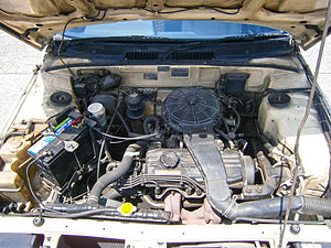 Mitsubishi Orion engine - The 4G15P engine in the first generation Proton Saga.