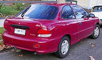 Facelift Hyundai Excel 3 Door Australia